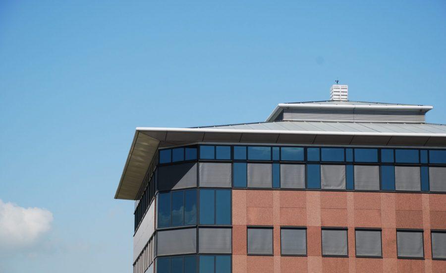 Aanzicht hoofdkantoor Bergschenhoek