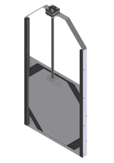 KHSA-R-O eenvoudige wandafsluiter