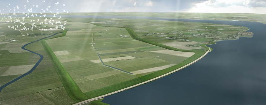 Impressie Hoogwatergeul Veessen-Wapenveld